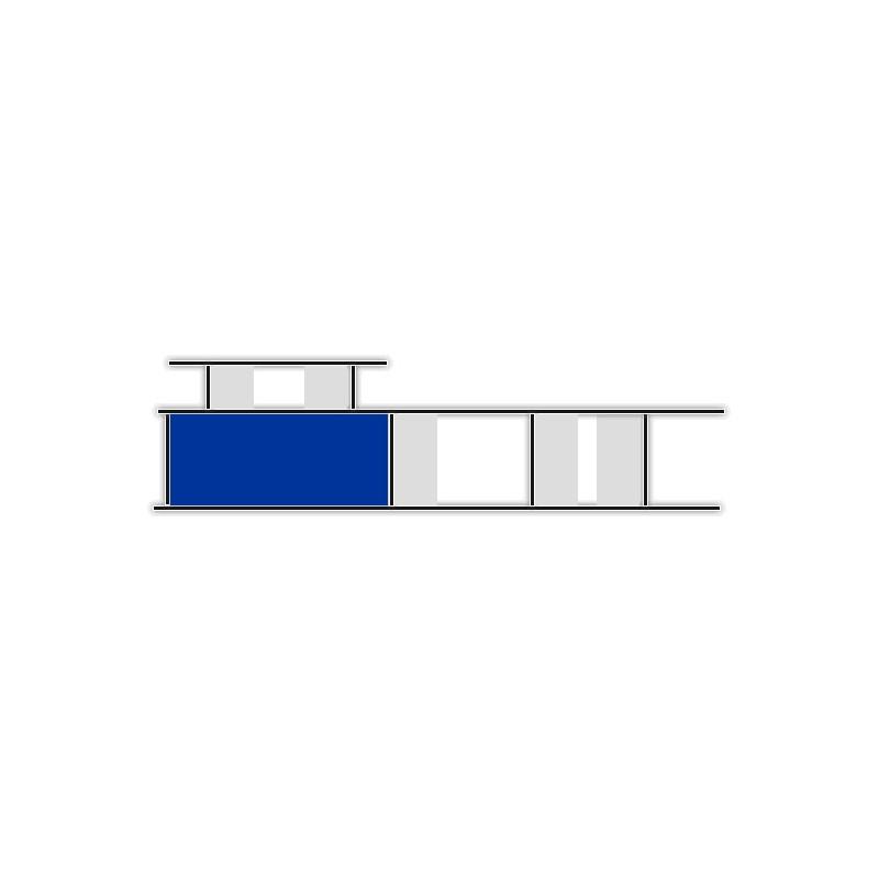Lowboard unicatum Los Angeles   Breite 206cm, ANB art & design ...