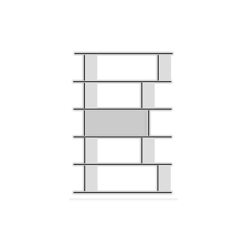raumteiler unicatum berlin 127cm breite anb art. Black Bedroom Furniture Sets. Home Design Ideas